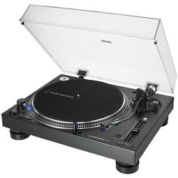 Audio-Technica AT-LP140XP Direct Drive Professional DJ Turntable - Silver