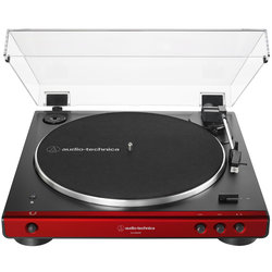 Audio-Technica AT-LP60XBT Fully Automatic Wireless Belt-Drive Turntable - Red