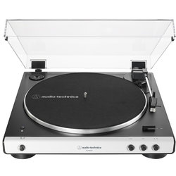 Audio-Technica AT-LP60XBT Fully Automatic Wireless Belt-Drive Turntable - White