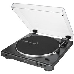Audio-Technica AT-LP60XUSB Fully Automatic Belt-Drive Turntable - Black