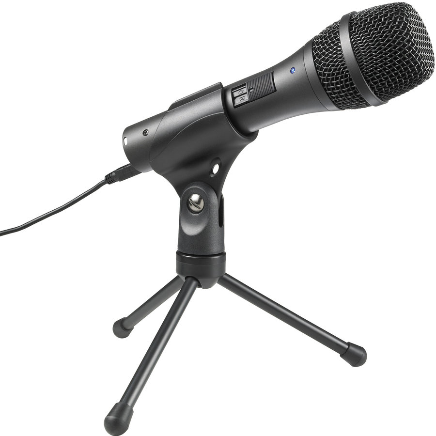 View larger image of Audio-Technica AT2005-USB Cardioid Dynamic USB/XLR Microphone