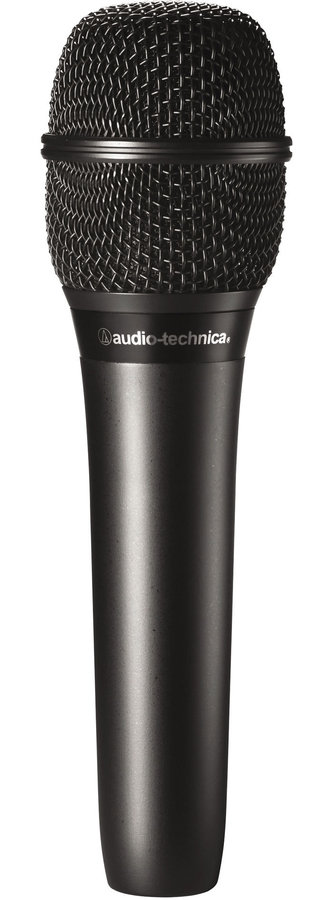 View larger image of Audio-Technica AT2010 Cardioid Condenser Handheld Microphone