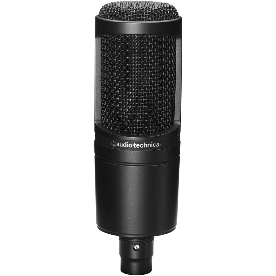 View larger image of Audio-Technica AT2020 Cardioid Condenser Microphone
