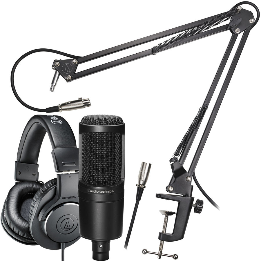View larger image of Audio-Technica AT2020PK Streaming/Podcasting Pack