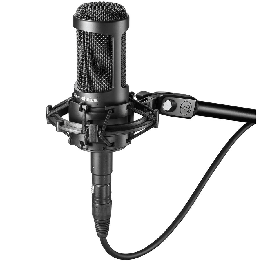 View larger image of Audio-Technica AT2035 Cardioid Condenser Microphone