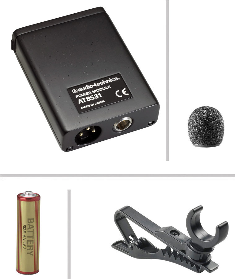 View larger image of Audio-Technica AT803 Omnidirectional Condenser Lavalier Microphone