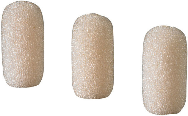 View larger image of Audio-Technica AT8157-TH Windscreens - Beige, 3 Pack