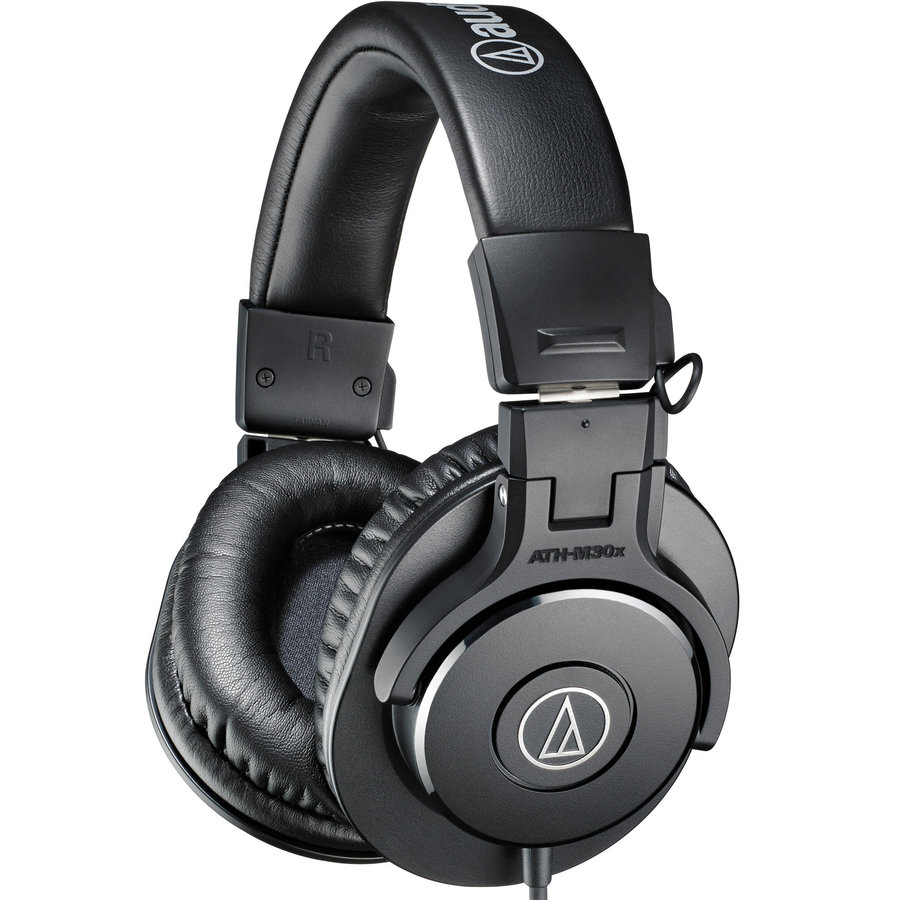 View larger image of Audio-Technica ATH-M30x Monitoring Headphones