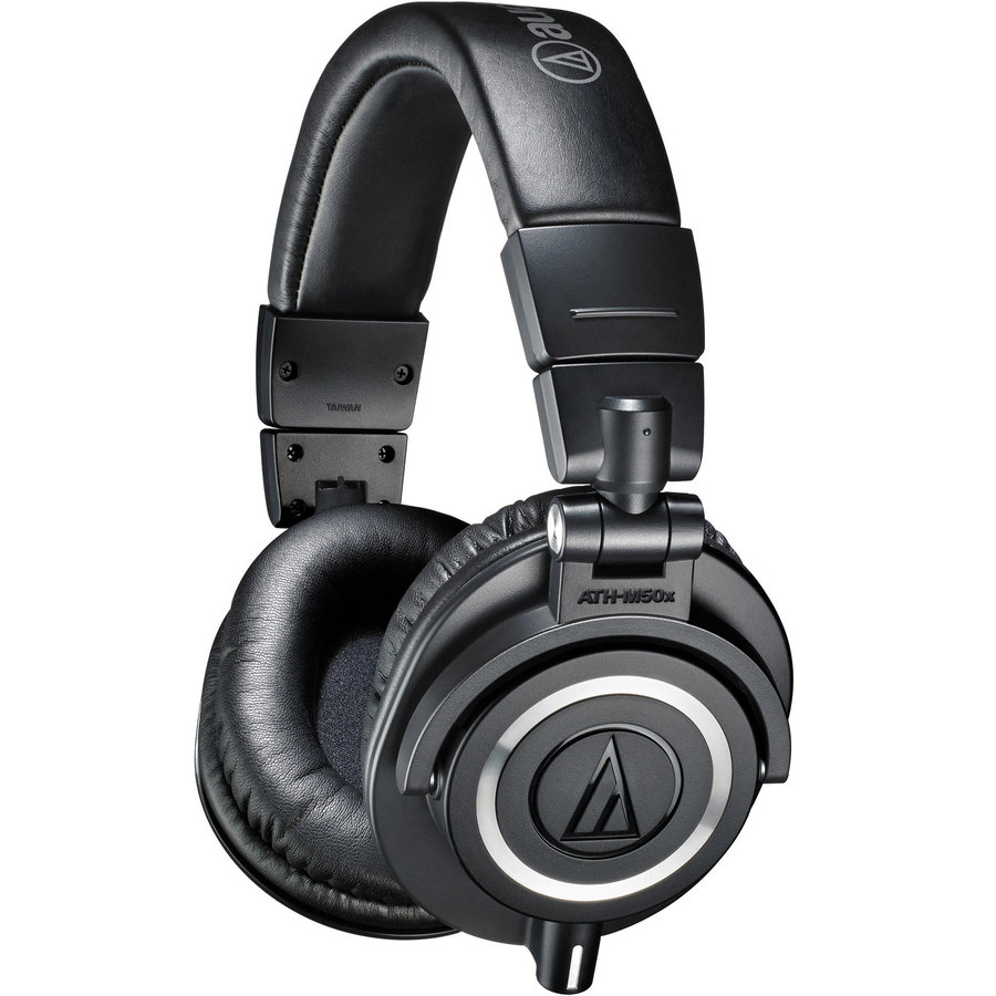 View larger image of Audio-Technica ATH-M50x Professional Monitor Headphones - Black