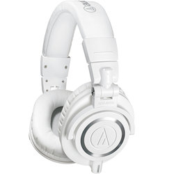 Audio-Technica ATH-M50x Professional Monitor Headphones - White