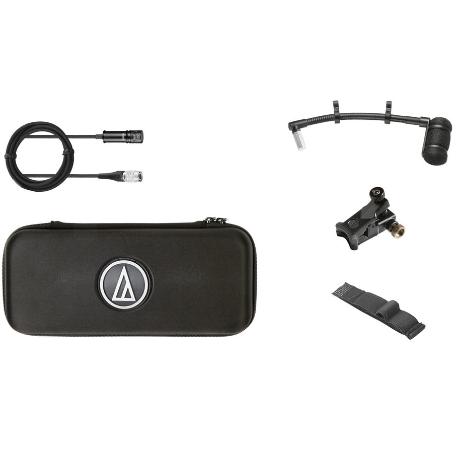 View larger image of Audio-Technica ATM350UcW Clip-On Cardioid Condenser Instrument Microphone