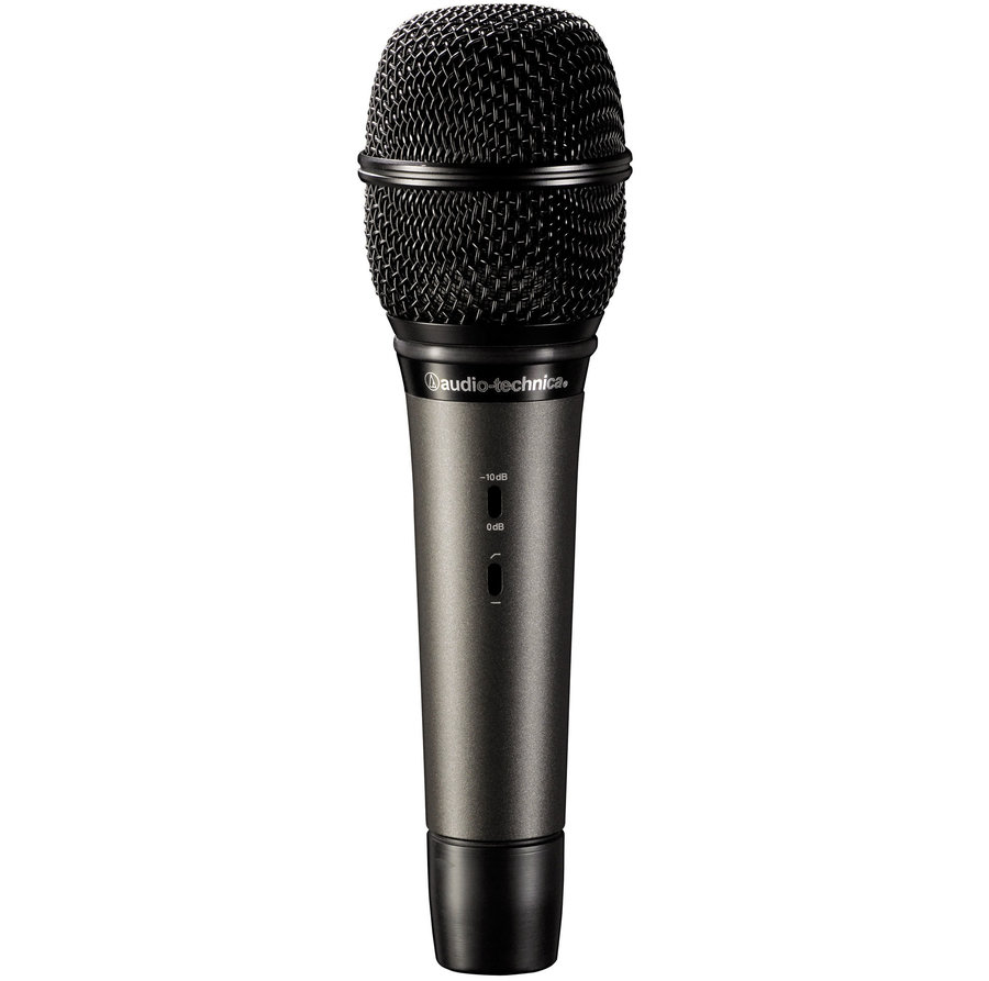 View larger image of Audio-Technica ATM710 Cardioid Condenser Handheld Microphone
