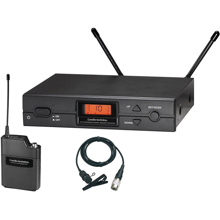 View larger image of Audio-Technica ATW-2129AI 2000 Series Wireless Lavalier System