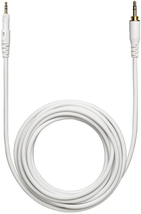 View larger image of Audio-Technica HP-LC-WH Replacement Cable for M-Series Headphones - White
