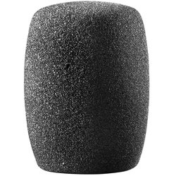 Audio Technica Large Cylindrical Foam Windscreen - Black