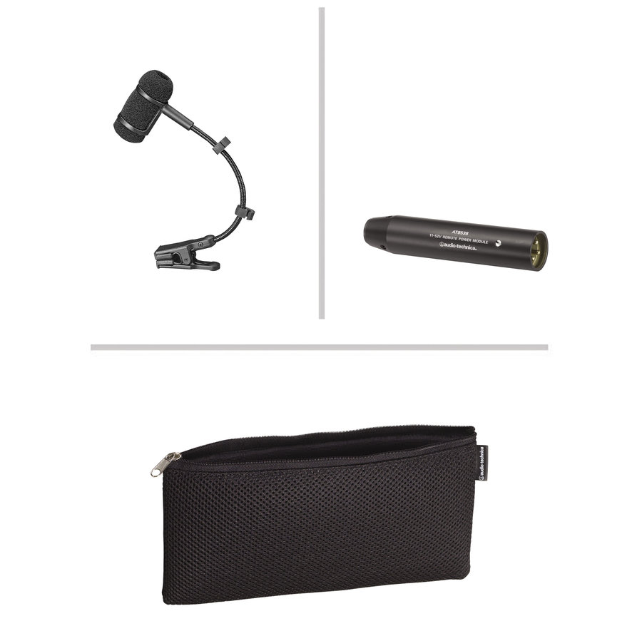 View larger image of Audio-Technica PRO 35 Cardioid Condenser Clip-on Instrument Microphone