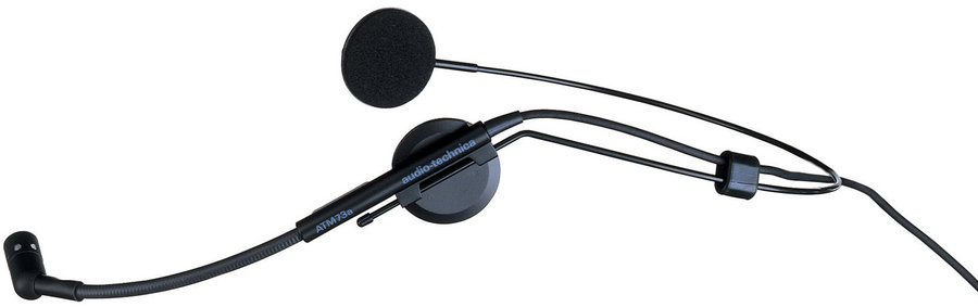 View larger image of Audio-Technica Wireless Mic Headset with Mini 4 Pin