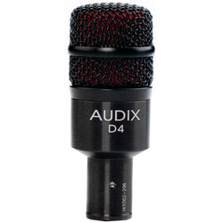 Audix D4 Dynamic Instrument Microphone