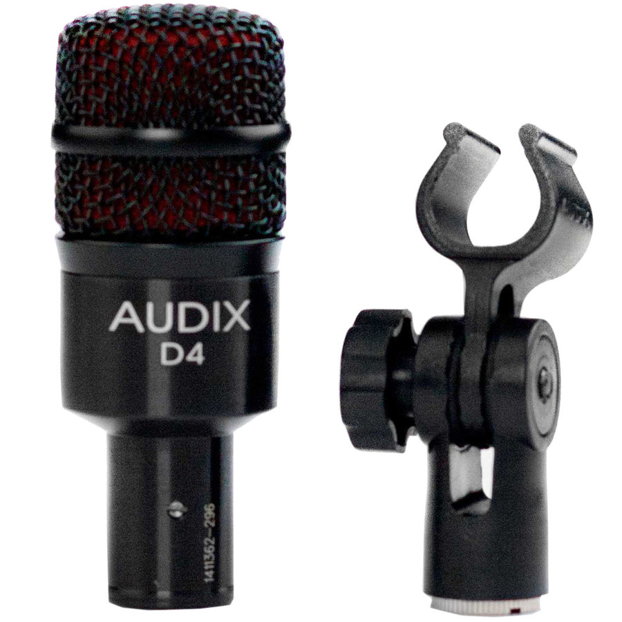 View larger image of Audix D4 Dynamic Instrument Microphone