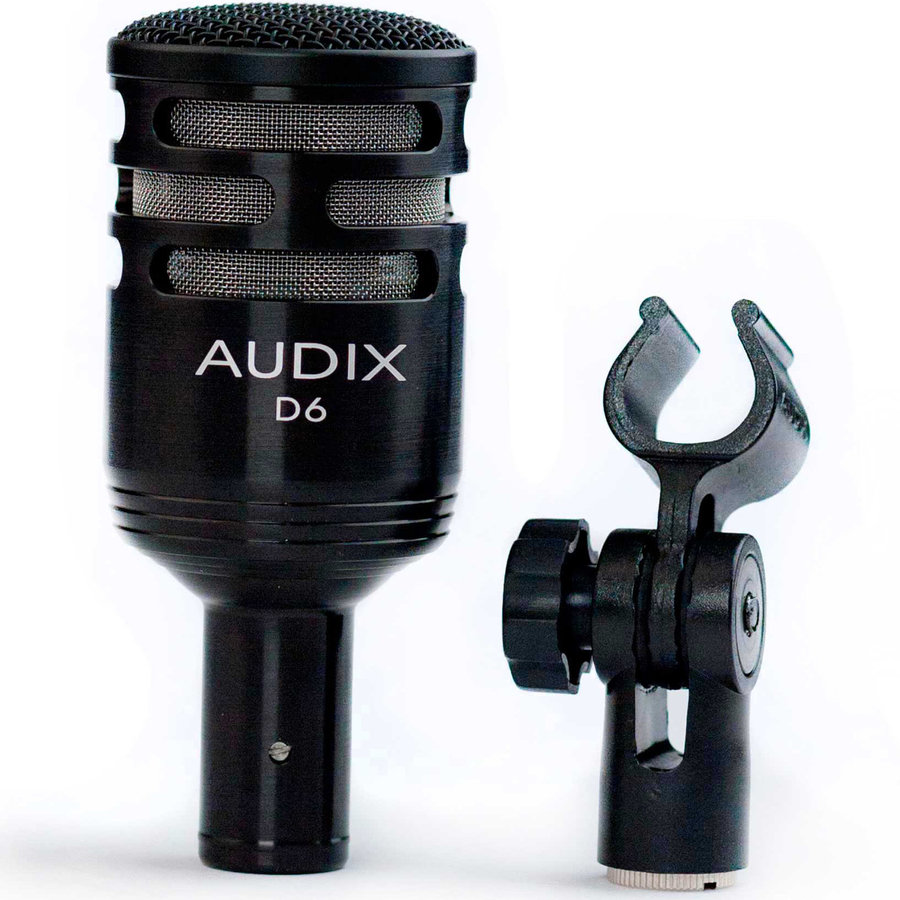 View larger image of Audix D6 Professional Dynamic Instrument Microphone