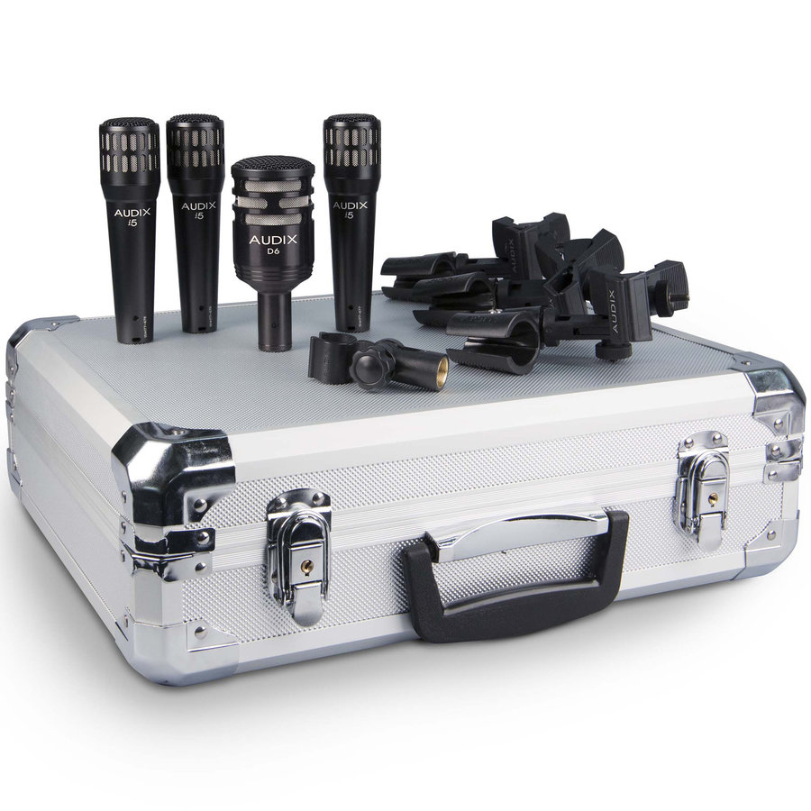 View larger image of Audix DP4 Drum Microphone Pack