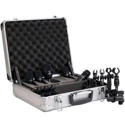Audix FP-7 7-Piece Fusion Drum Microphone Pack
