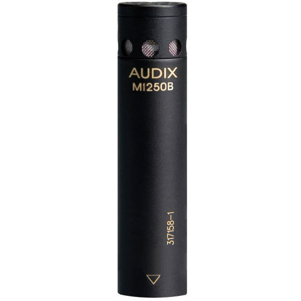 View larger image of Audix M1250B Miniaturized Condenser Microphone