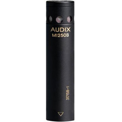 View larger image of Audix M1250BS Miniaturized Supercardioid Condenser Microphone
