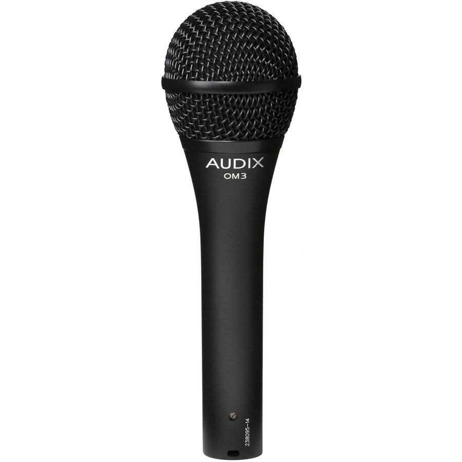 View larger image of Audix OM3 Dynamic Hypercardioid Handheld Microphone
