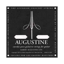 Augustine Black Classical Guitar Single String - Light Tension B' or 2nd