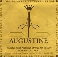 View larger image of Augustine Gold Classical Guitar Single String - Gold Plated B or 2nd