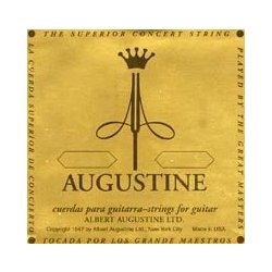 Augustine Gold Classical Guitar Single String - Gold Plated B or 2nd