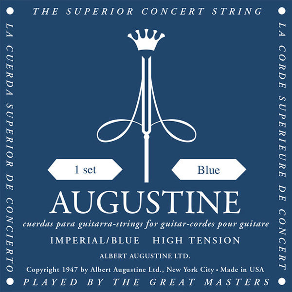 View larger image of Augustine Imperial Blue Classical Guitar Strings