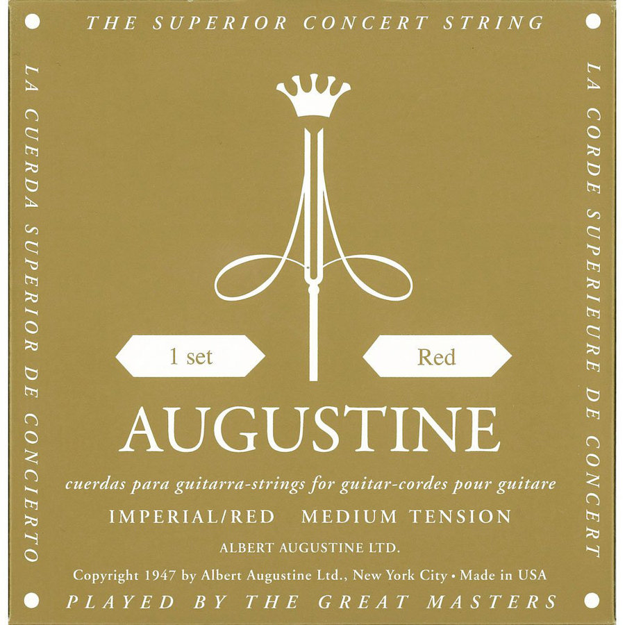 View larger image of Augustine Imperial Red Classical Guitar Strings Set