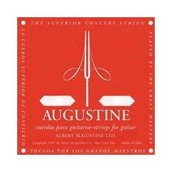 Augustine Red Classical Guitar Single String - Medium Tension E' or 6th