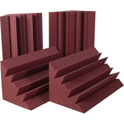 Auralex LENRD Bass Traps - Burgundy, Set of 4