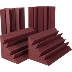 Auralex LENRD Bass Traps - Burgundy, Set of 8