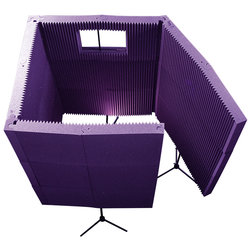 Auralex MAX-Wall 1141 Portable Acoustic Treatment System - Burgundy
