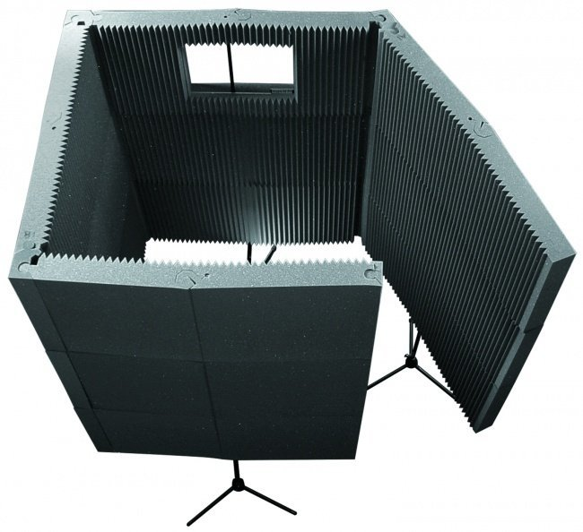 View larger image of Auralex MAX-Wall 1141 Portable Acoustic Treatment System - Charcoal