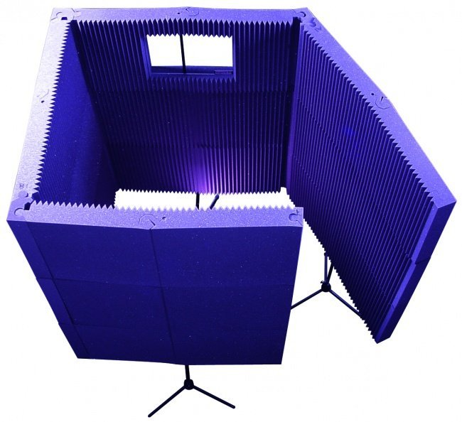View larger image of Auralex MAX-Wall 1141 Portable Acoustic Treatment System - Purple