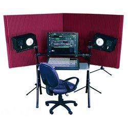 Auralex MAX-Wall 420 Portable Acoustic Treatment System - Burgundy