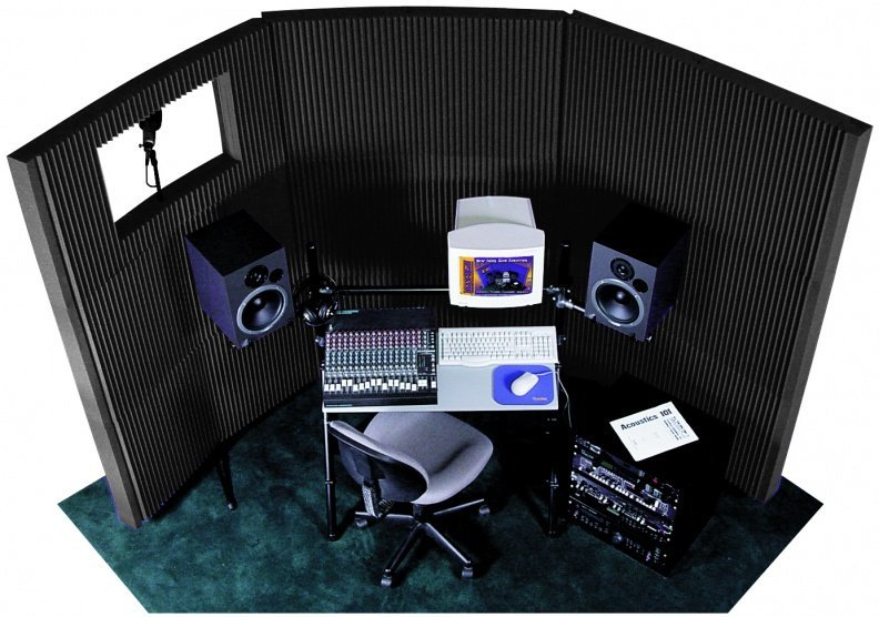 View larger image of Auralex MAX-Wall 831 Portable Acoustic Treatment System - Charcoal