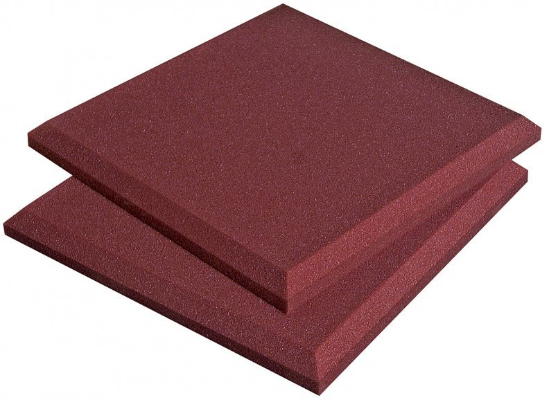 View larger image of Auralex SonoFlat Panels - Burgundy, 2, Set of 16