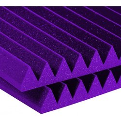 Auralex Studiofoam  Wedges – Purple, 2, 12 Panels