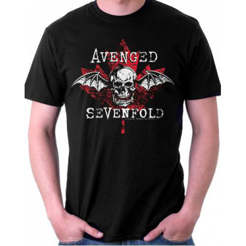 View larger image of Avenged Sevenfold Maple Leaf T-Shirt - Men's Small