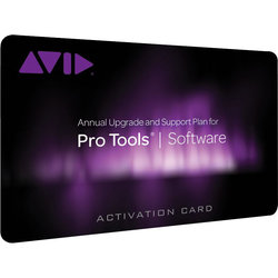 Avid Pro Tools Annual Subscription Activation Card - Professional Edition