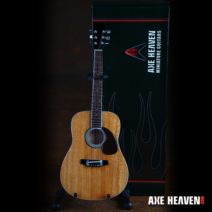 View larger image of Axe Heaven AC-001 Acoustic Miniature Guitar Replica Collectible - Classic Natural
