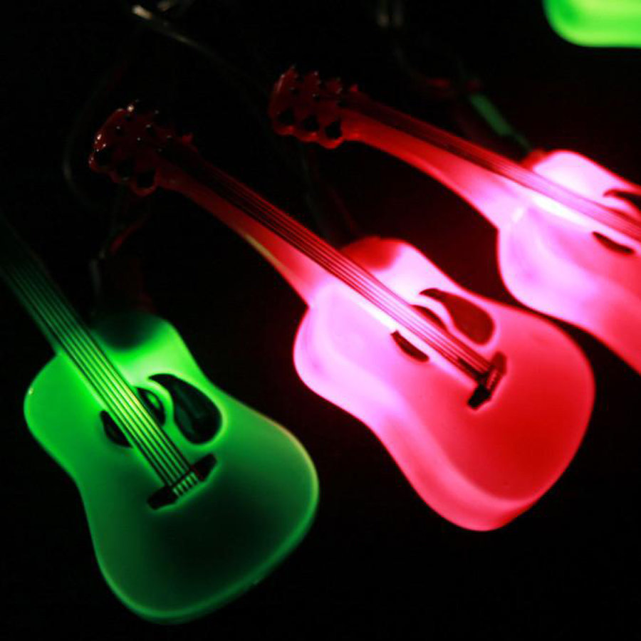 View larger image of Axe Heaven Acoustic Guitar Party Lights