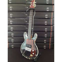 Axe Heaven Dan Armstrong Acrylic Clear Minature Electric Guitar Replica