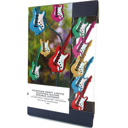 Axe Heaven Double Cutaway Electric Guitar Party Lights